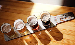 Yellow Springs Brewery Flight Paddle